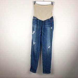 Jessica Simpson Maternity Jeans Skinny Distressed